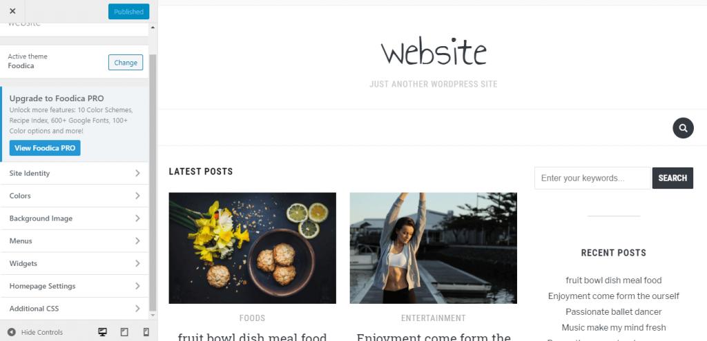 foodicafBestfressWordPressthemeforblog
