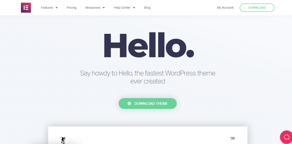 Hello best free themes in WordPress