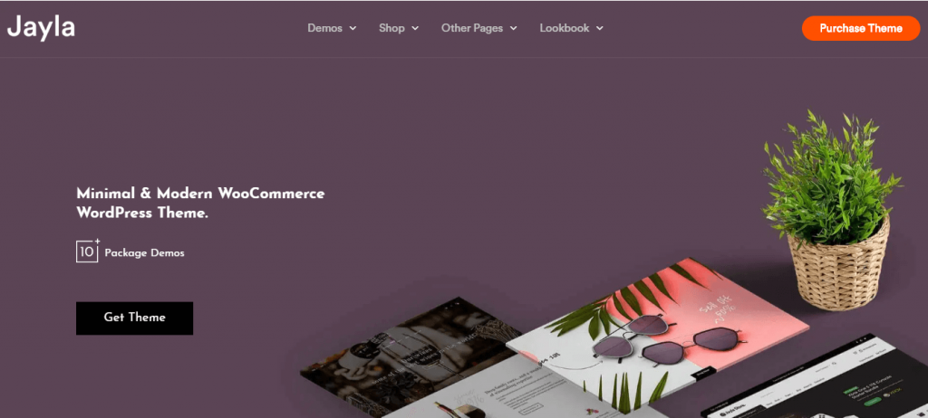 best WordPress themes for eCommerce jayla