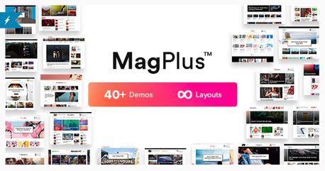 MagPlus best WordPress Sports Themes
