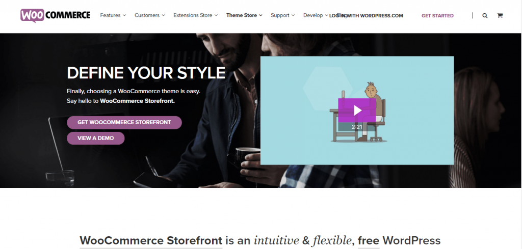 Storefront best free themes in WordPress