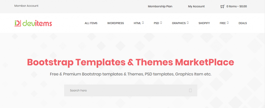 devs item marketplaces to sell WordPress themes and plugins