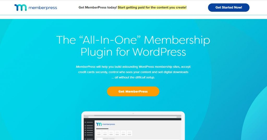 MemberPress subscription plugins for WordPress