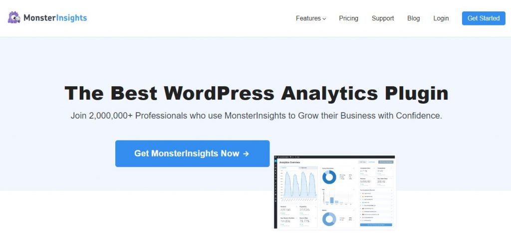 monster insight WordPress plugins for business