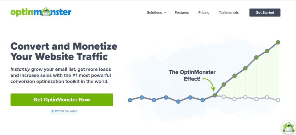 optinmonster WordPress plugins for business