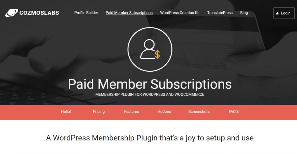 paidmember subscription subscription plugins for WordPress