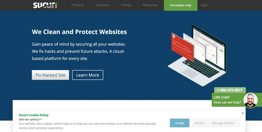 sucuri WordPress plugins for business