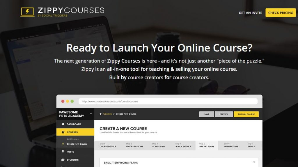 Zipy courses subscription plugins for WordPress