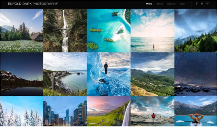 enfold Best photography themes for WordPress